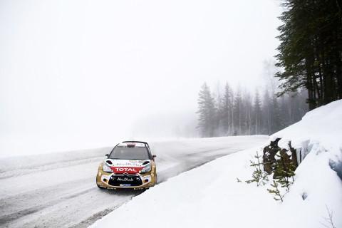 雪铁龙DS3WRC拉力赛