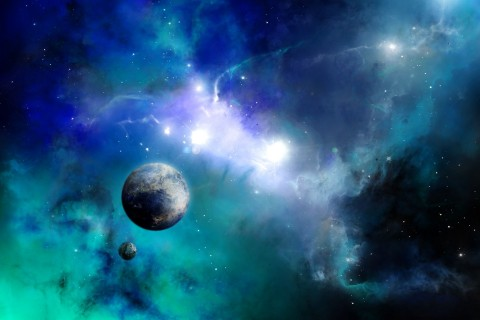 唯美浩瀚星球