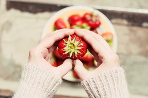 心中的草莓