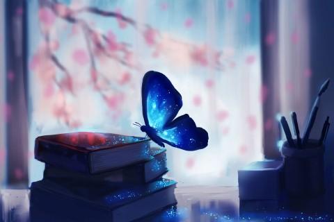 闪亮的蝴蝶