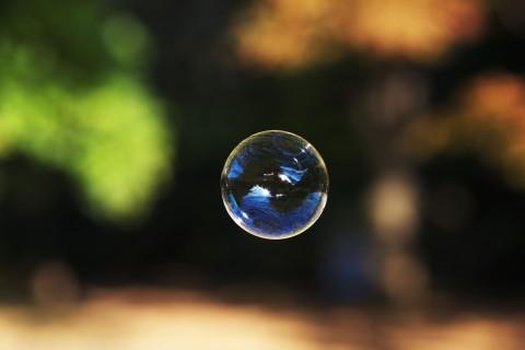 飘浮的泡泡