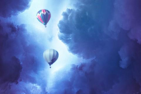 梦幻热气球