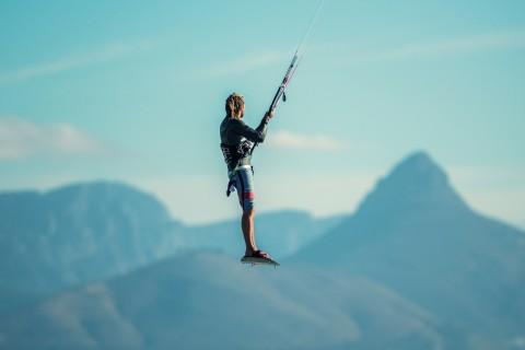 水上运动风筝冲浪