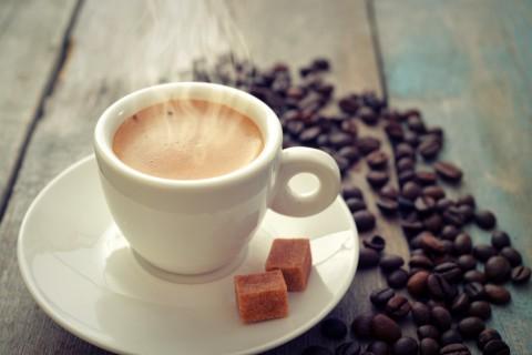 浓郁飘香的咖啡