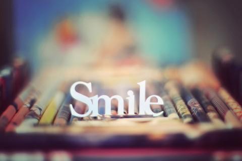 记住微笑的时候