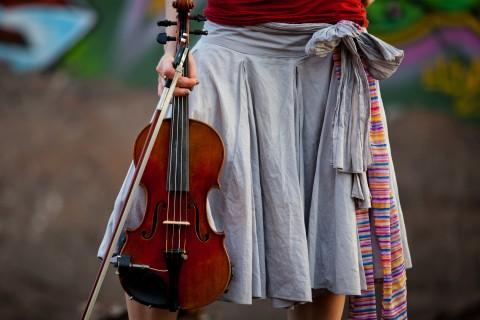 小提琴的旋律