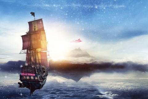 云端上的帆船
