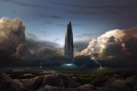 科幻世界建筑