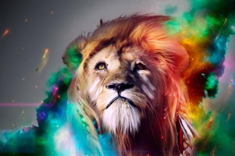 流泪的狮子