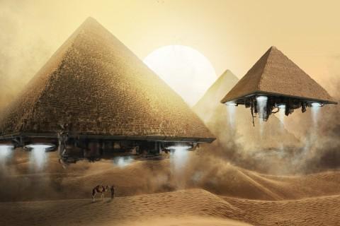 飞升的金字塔