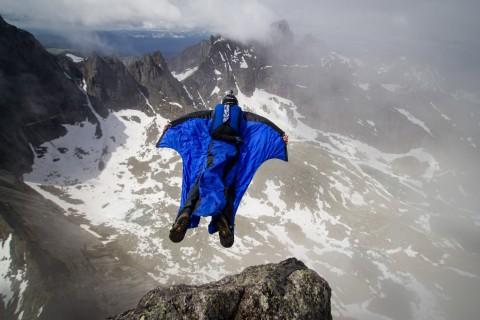 极限运动翼装飞行
