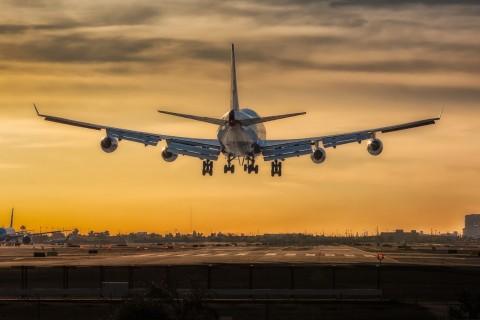 机场上的波音747