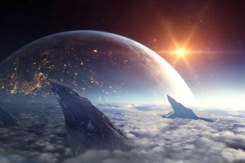 唯美科幻太空