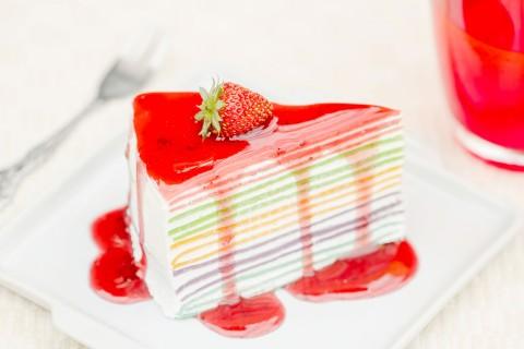 草莓果酱蛋糕