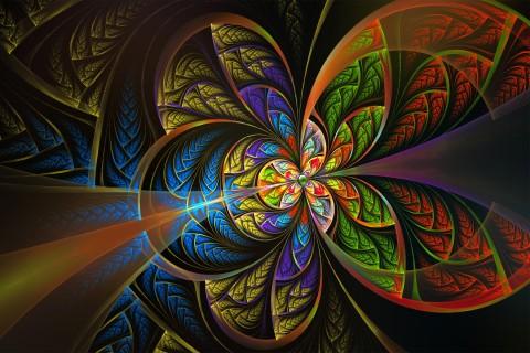 抽象分形艺术