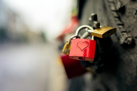 锁上我对你的爱