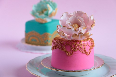 精致的小蛋糕