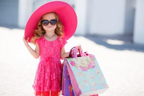 时尚的小女孩