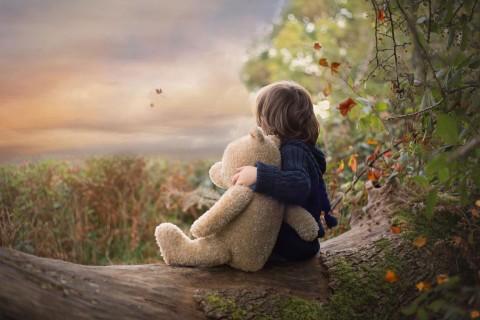 小熊陪伴我成长