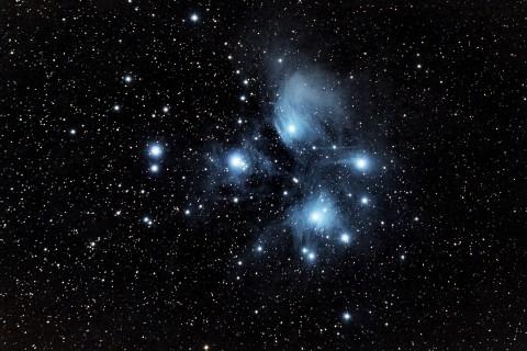 美丽的昴星团