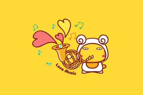 爱音乐的哈咪猫
