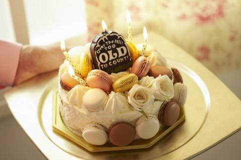 马卡龙生日蛋糕