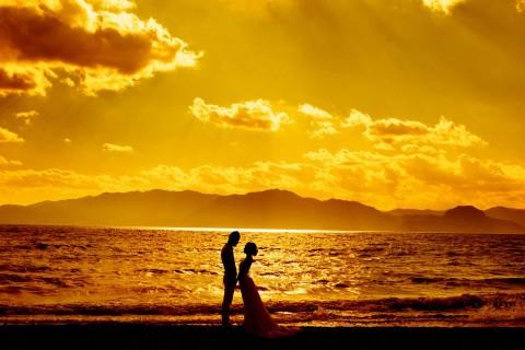 大海见证我们的爱情