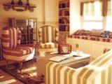 温暖的客厅