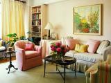 充满温馨气氛的客厅