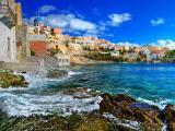 希腊沿海人家