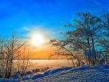 冬日里的那缕阳光