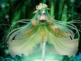 动漫森林女孩