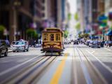 城市里的电车