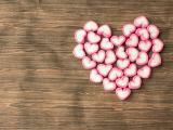 爱心棉花糖