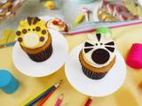 动物纸杯蛋糕