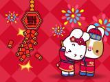 春节放鞭炮