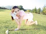 高尔夫球美女黎悦汐
