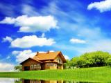 蓝天下的小屋