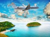 翱翔天空的飞机