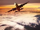 高空中的飞机