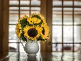 向日葵插花