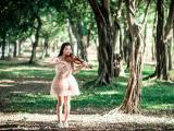 在树林中独奏