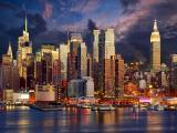 纽约曼哈顿夜景