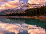 美丽的加拿大班夫国家公园