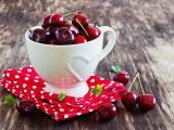 美味的水果樱桃