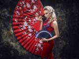 美丽的旗袍美女