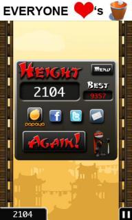 忍者跳跃iPhone版截图