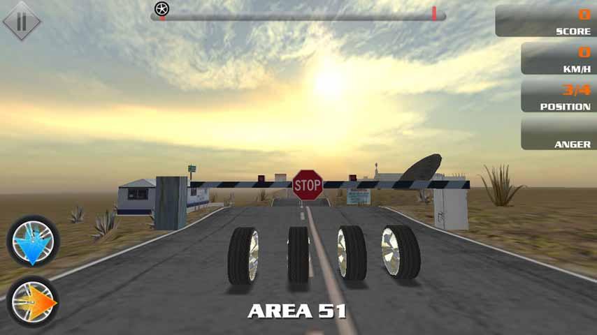 3D超级轮胎iPhone版图片