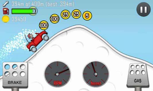 登山赛车iPad版截图