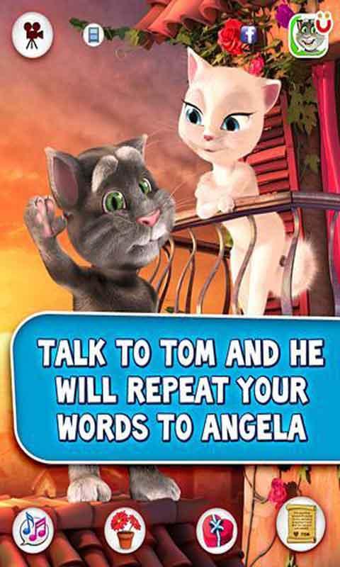 啊朋友再见表情包汤姆-汤姆爱安吉拉